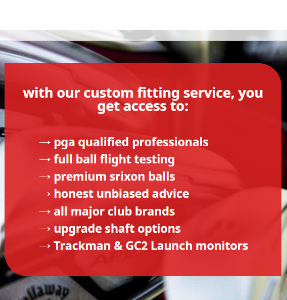 Custom Club Fitting Experts