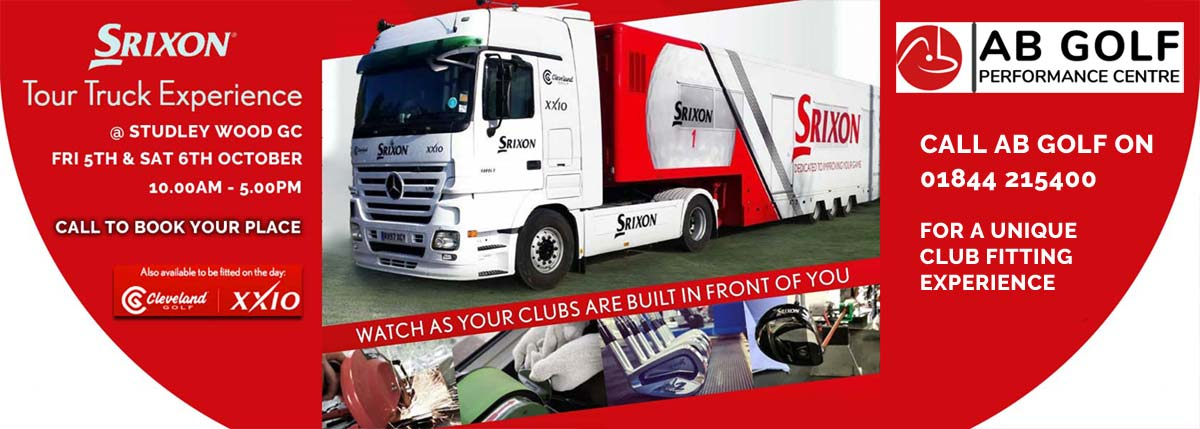 Srixon Tour Bus Visiting Studley Wood in October